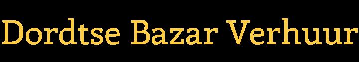 Dordtse Bazar Verhuur
